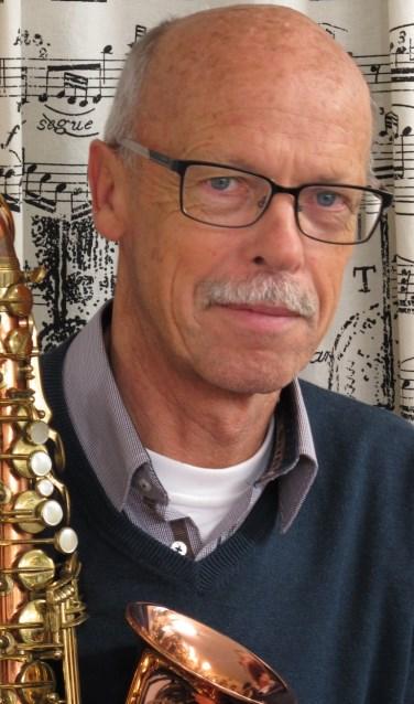 Saxofonist Wim de Veth. FOTO RUUD DE KORT