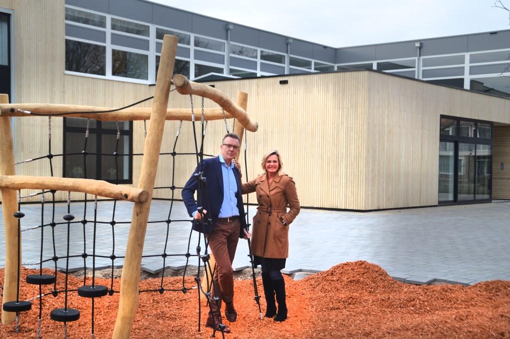 Arnoud Wever en Astrid Boot.