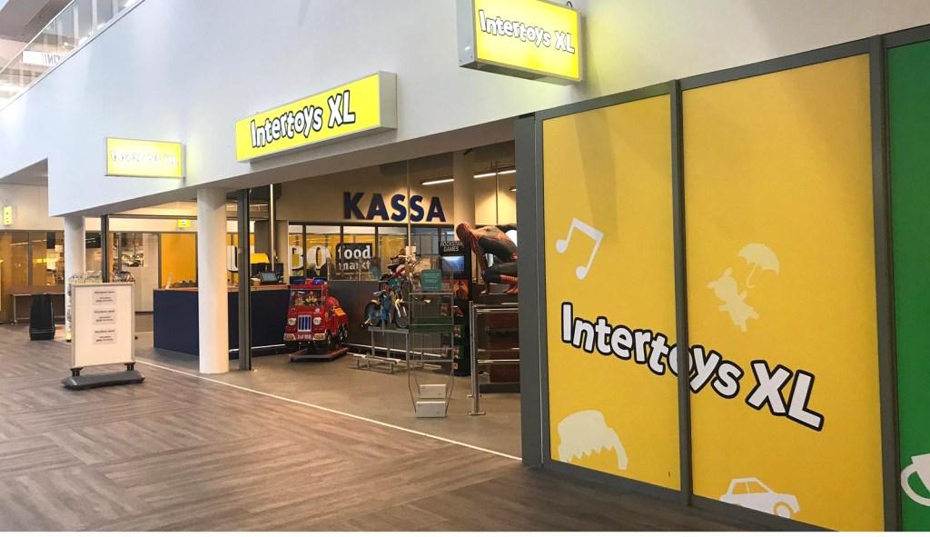 De Intertoys XL bij Stada Stores is binnenkort de enige Bredase vestiging van de speelgoedketen.