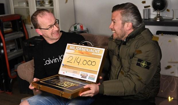 Cornelis uit Oudenbosch werd zondagavond thuis door Winston Gerschtanowitz verrast met 214.000 euro.
