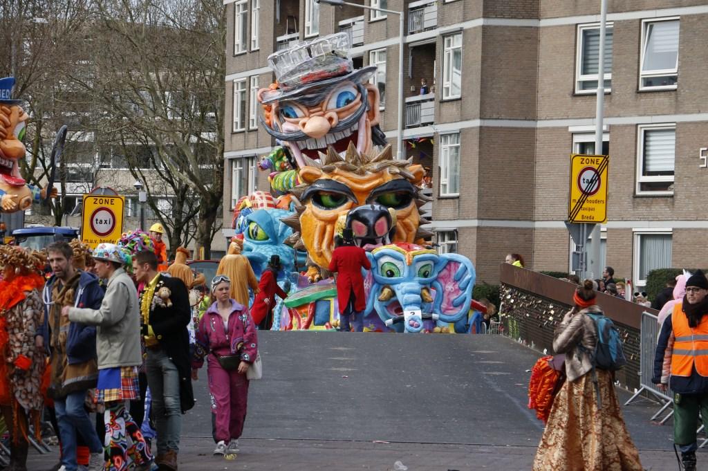 De Grote Optocht van het Kielegat, maandag 4 maart 2019.  Foto: Wijnand Nijs © BredaVandaag
