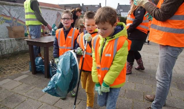 In 2018 werd onder andere Nispen schoongemaakt door vrijwilligers