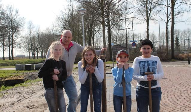 In 2018 vond de Boomfeestdag plaats in Dinteloord bij de Groen van Prinstererschool.
