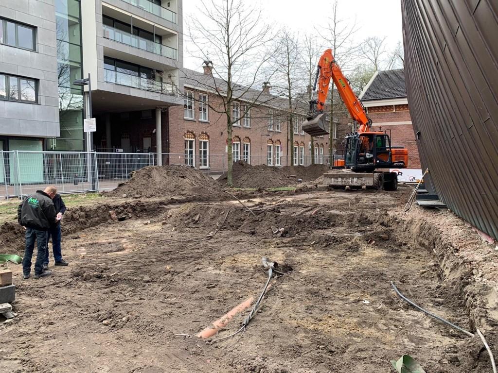 De voorbereidende werkzaamheden voor de verbouwing van Mezz zijn begonnen. Foto: Wesley van der Linde/groennieuws.nl © BredaVandaag