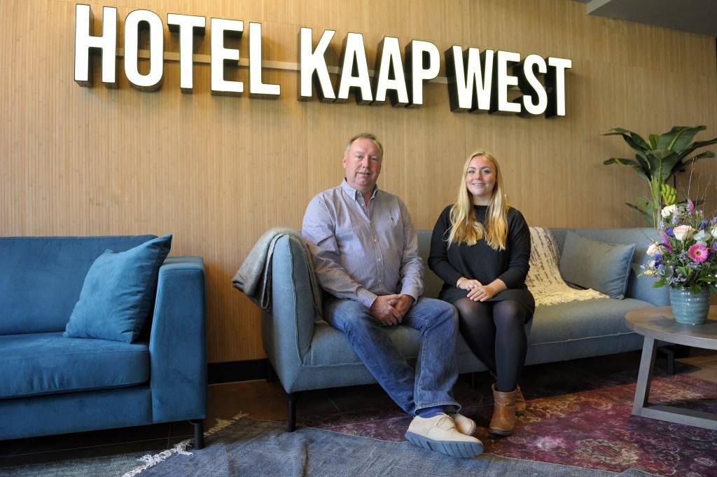 Laura en Michel Kloeg zijn er klaar voor om gasten te ontvangen. Foto: Annet Eekman © Internetbode