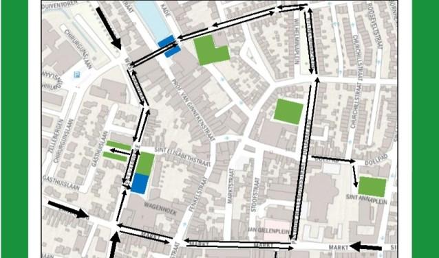 Met ingang van 16 april heeft het centrum van Oudenbosch twee blauwe zones.