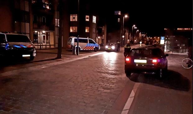 De politie hield in en rondom het centrum van Vlissingen controles.