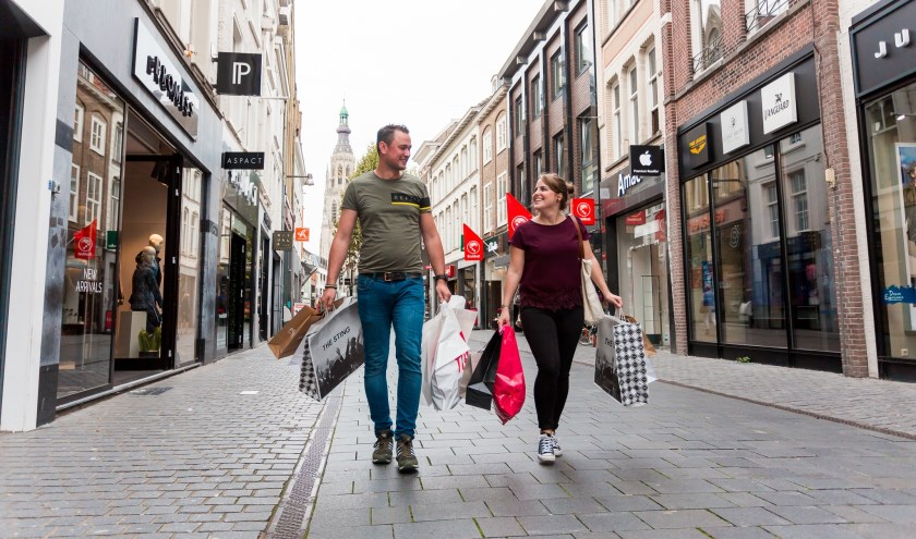 Shoppen in de Bredase binnenstad