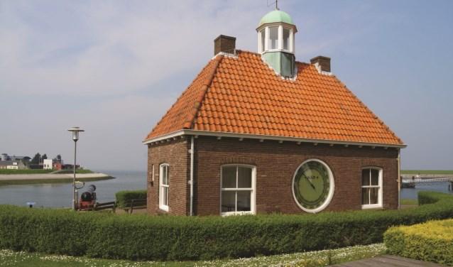 Het peilhuisje in Wemeldinge.