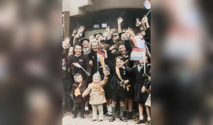 Feest tijdens de bevrijding van Breda 75 jaar geleden