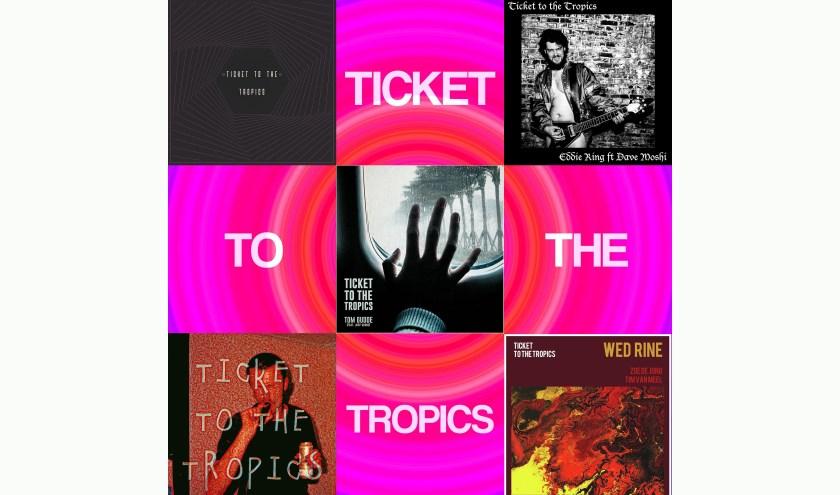 Vijf keer Ticket to the Tropics.
