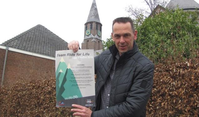 Marco van Hassel: 'Met zijn allen langs de zijlijn zitten, daar ga je de ziekte kanker niet mee bestrijden'