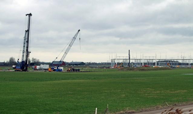 Wellicht komt er een zonnepark bij het nieuwe hoogspanningsstation bij Rilland.