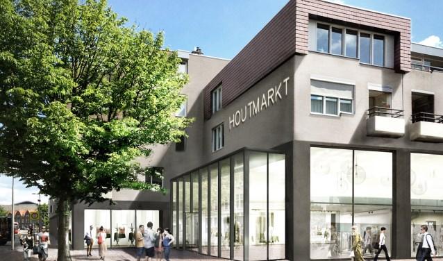 Artist Impressie Houtmarkt Ginnekenstraat