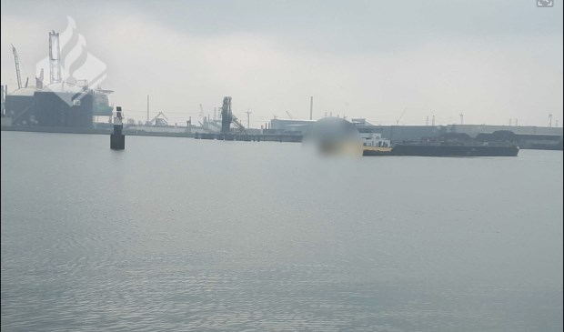 De tanker werd op de Sloehaven stilgelegd.