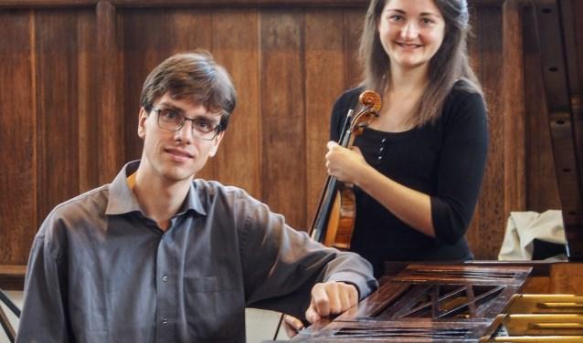Elise Besemer en Laurens de Man. FOTO ANNET BESEMER