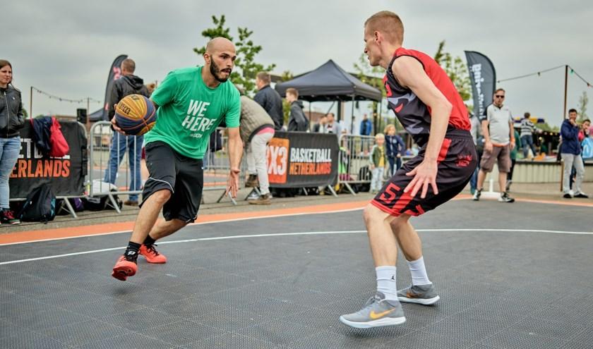 Streetball Masters Breda bij Pier 15.