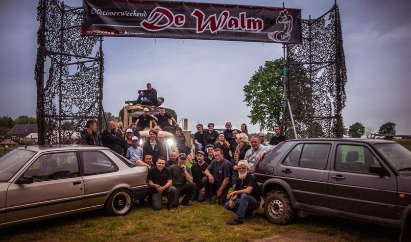 De vrijwilligers van De Walm vormen één grote vriendengroep. FOTO DE WALM