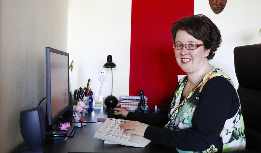 Scharrelondernemer Esther Moelands.