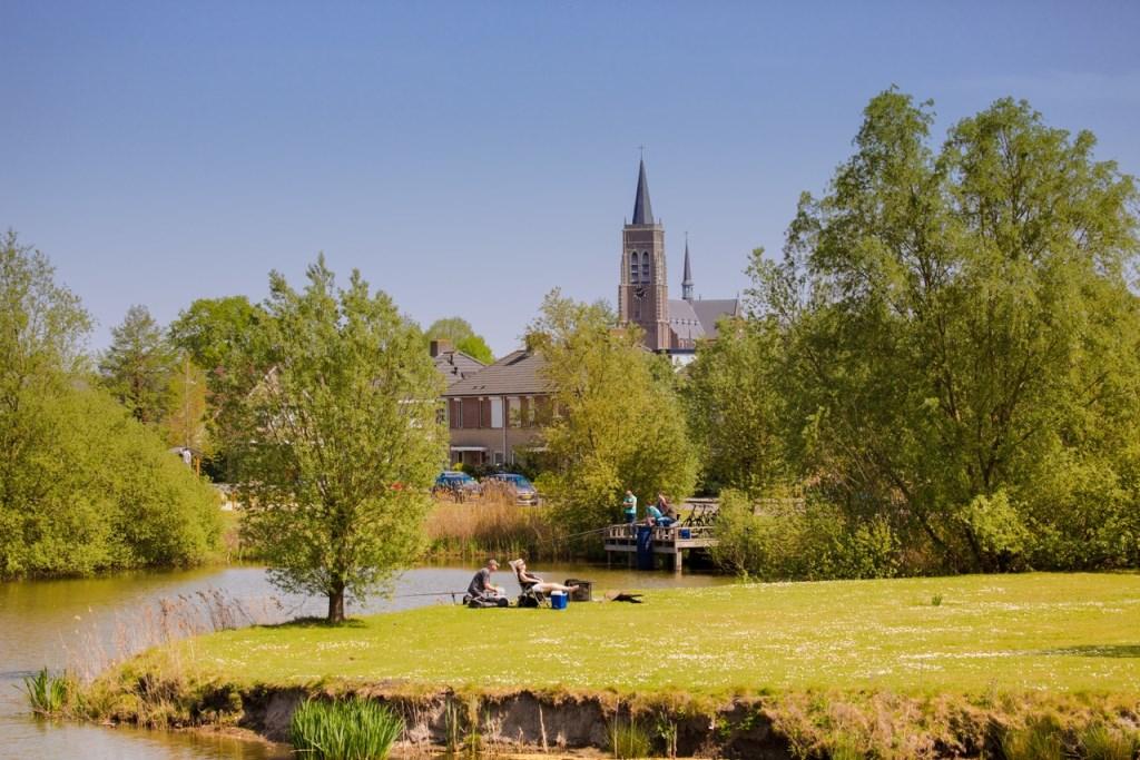 Het park van Oud Gastel stond centraal op een van de foto's van Geert Hoppenbrouwers.   © Internetbode