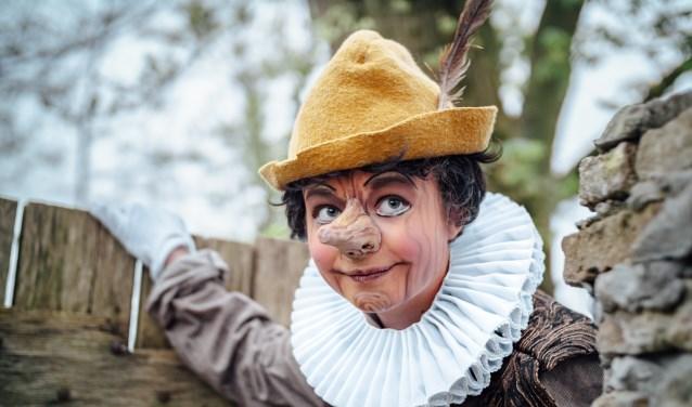 Saartje in haar rol als Pinocchio FOTO: ROCKETSTORIES