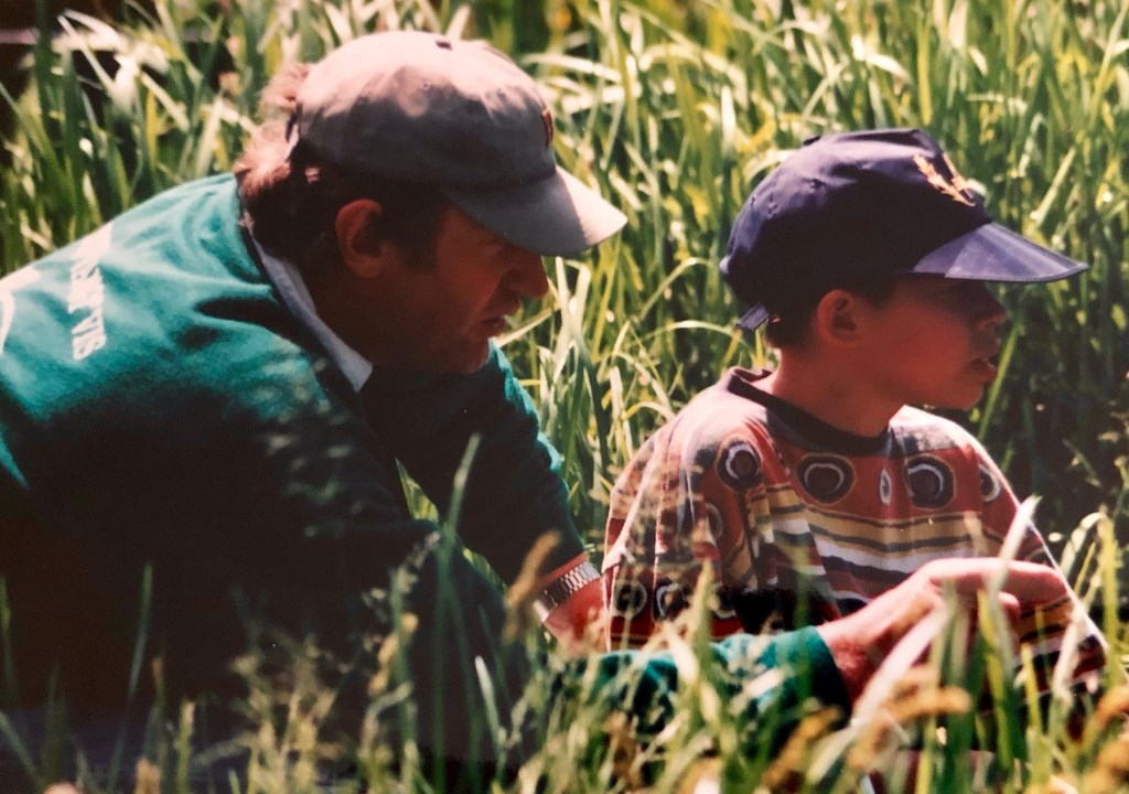 Ad in vroegere jaren als gedreven jeugdleider van Geduld Vangt Vis Foto: familiebezit  © Internetbode
