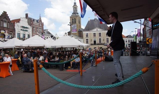 Het smartlappenfestival trekt ieder jaar weer veel bezoekers FOTO RENÉ BRUIJNINCX