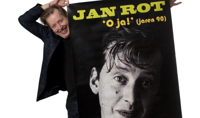 Jan Rot keert terug naar zijn oude gemeente met het programma 'O ja!' FOTO BUIS BARTON