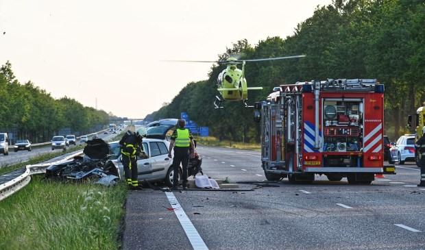 Update: Zes gewonden bij twee ongevallen A58 Sint Willebrord - Internetbode