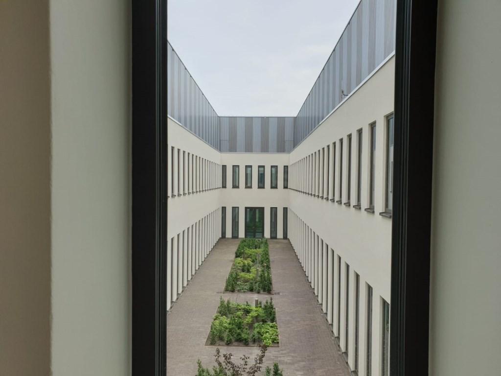 Binnentuin.  Foto: Hanneke Marcelis © BredaVandaag