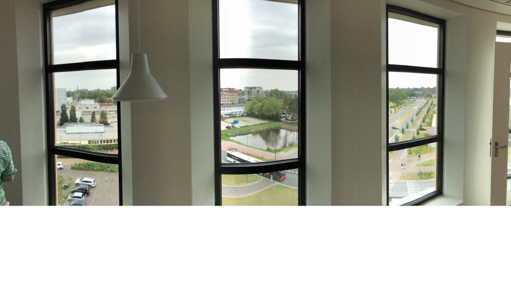 Uitzicht uit een patiëntenkamer vanaf de vijfde verdieping van de nieuwbouw. Foto: Wijnand Nijs © BredaVandaag