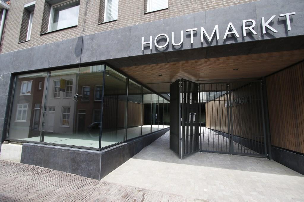 De nieuwe Houtmarkt krijgt steeds meer vorm. De toegang vanaf Molsparking.