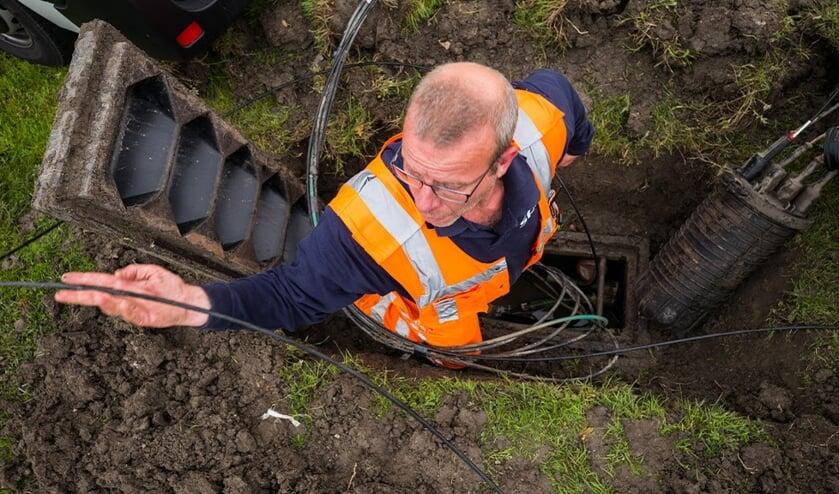 Het kabelnetwerk in Zeeland wordt uitgebreid. FOTO DELTA