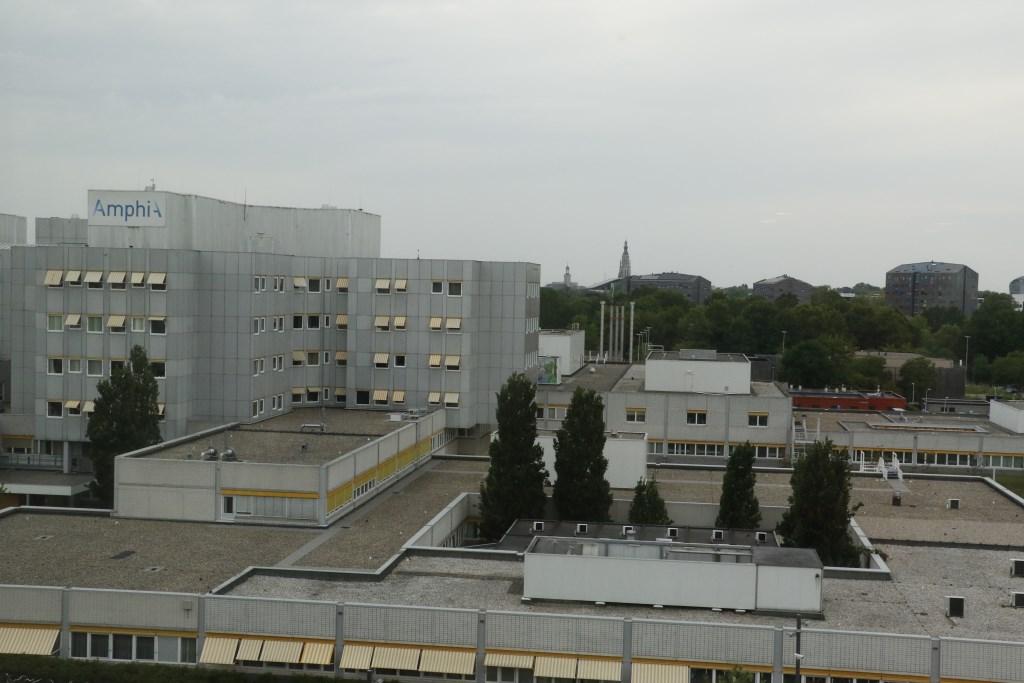 De nieuwbouw van het Amphia op de dag van de sleuteloverdracht aan het ziekenhuis. Foto: Wijnand Nijs © BredaVandaag