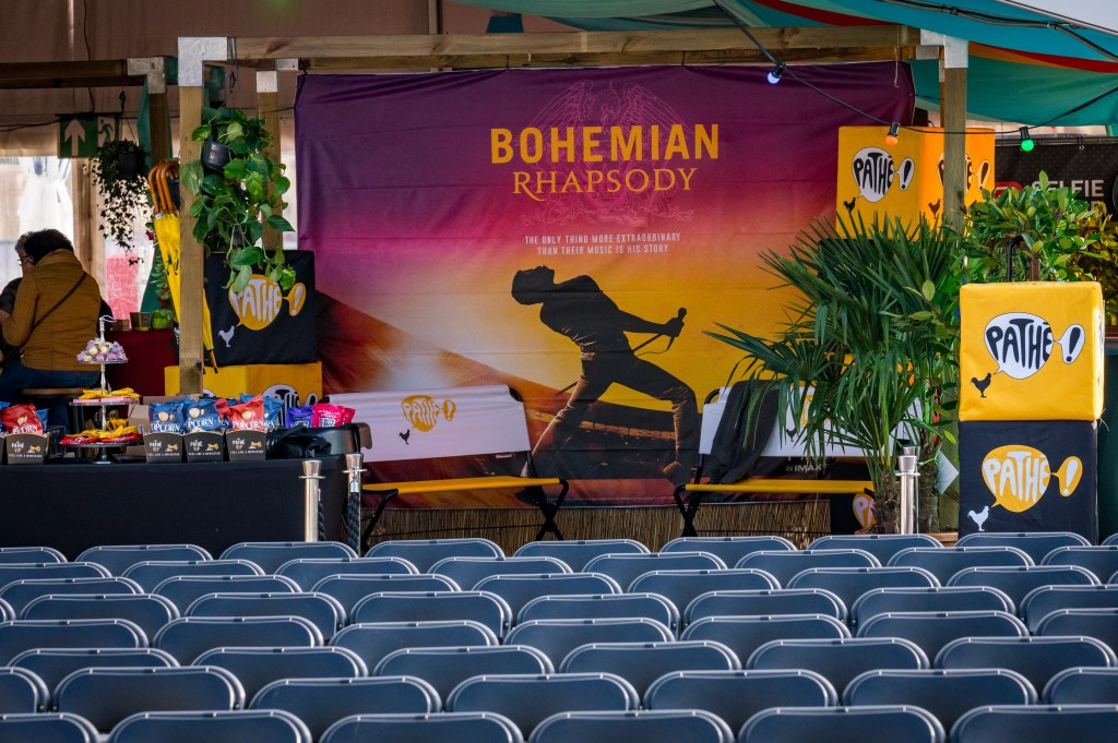 Het Spanjaardsgat Festival vertoonde in samenwerking met Pathé de legendarische film Bohemian Rhapsody. Foto: Chris Kooistra/Spanjaardsgat Festival © BredaVandaag