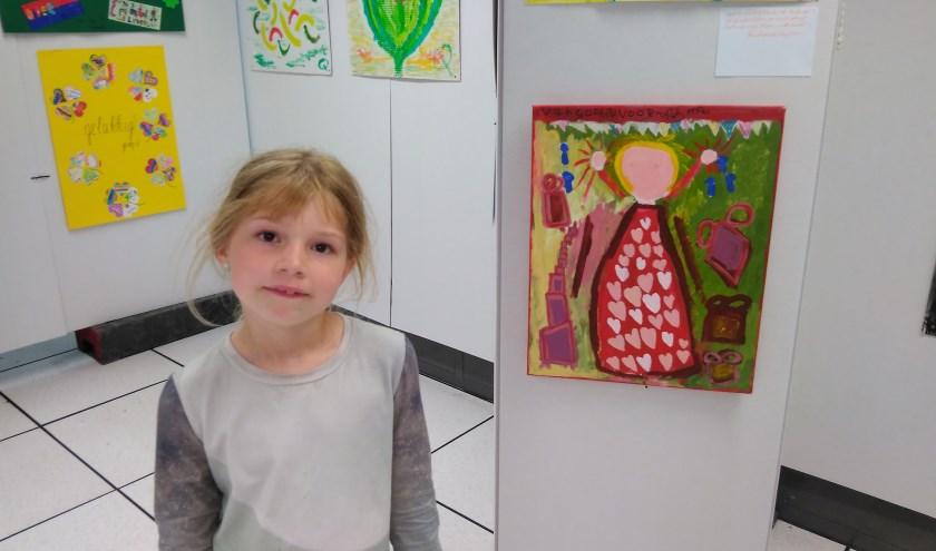 Sophia Timmers (8 jaar). FOTO ZIN IN ETTEN-LEUR