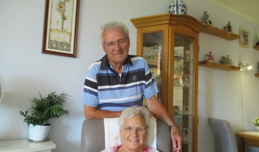 Het echtpaar Blommers heeft het in Zevenbergen prima naar de zin.