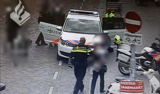 De verdachten konden worden opgepakt door live camerabeelden.