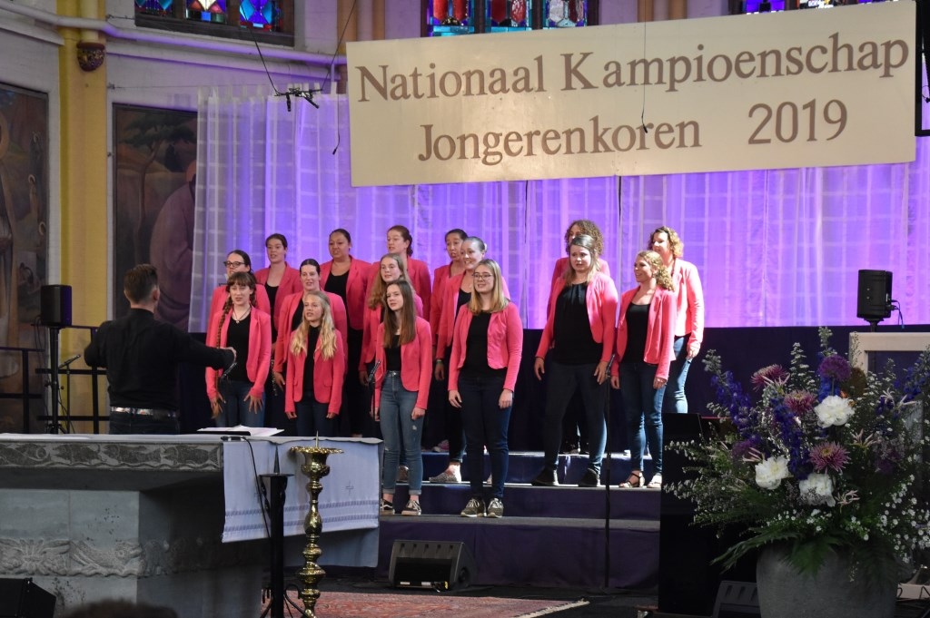 Diverse koren strijden om de titel.  Foto: Sandra Smits © Internetbode