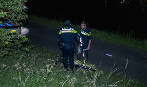 De fietser raakte zwaar gewond.