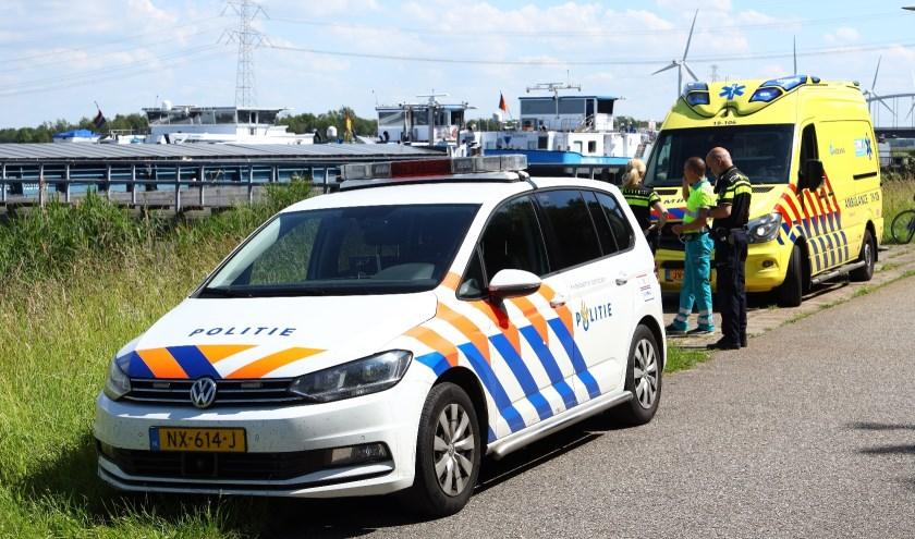 De politie, ambulance en brandweer kwamen met spoed ter plekke.