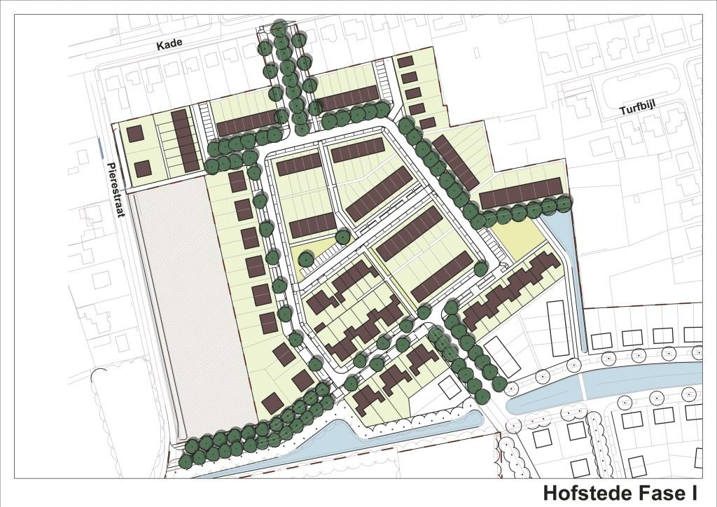 Impressie van het plan Hofstede. TEKENING VAN AGTMAAL Foto: Van Agtmaal © Internetbode