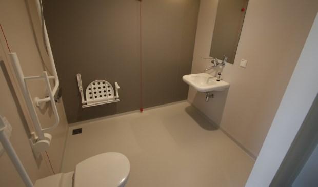 De patiëntenbadkamer. Foto: Wijnand Nijs © BredaVandaag