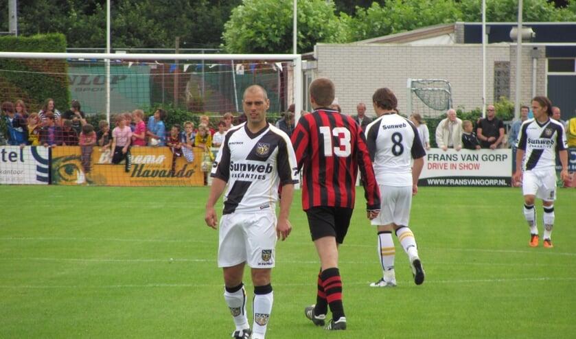 Sportpark De Wildert is al jaren het toneel van het oefenduel tussen de Zundertse Selectie en NAC.