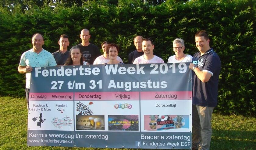Deze mensen zijn al maanden bezig met de Fendertse Week.