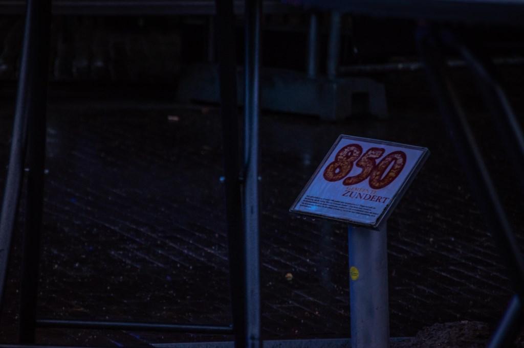 Door de regen was het aan het begin van de avond rustig.  Foto: Charles van Campenhout © Internetbode