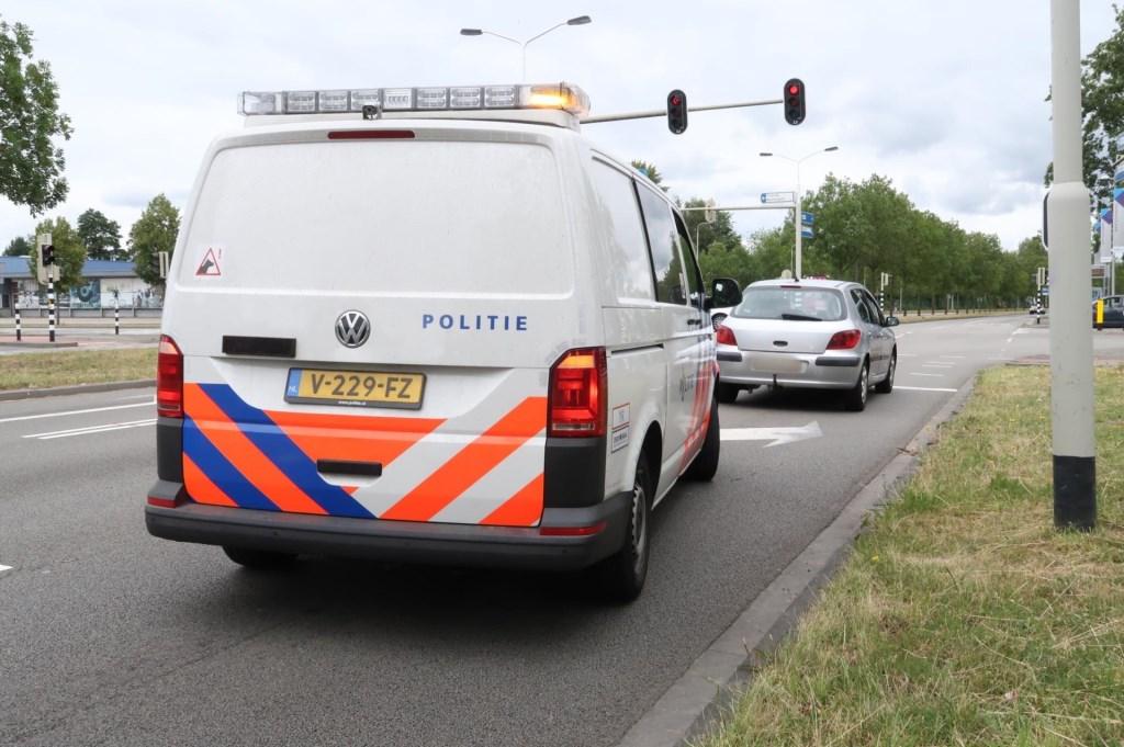De politie hield niet veel later een verdachte aan. Foto: Perry Roovers © BredaVandaag