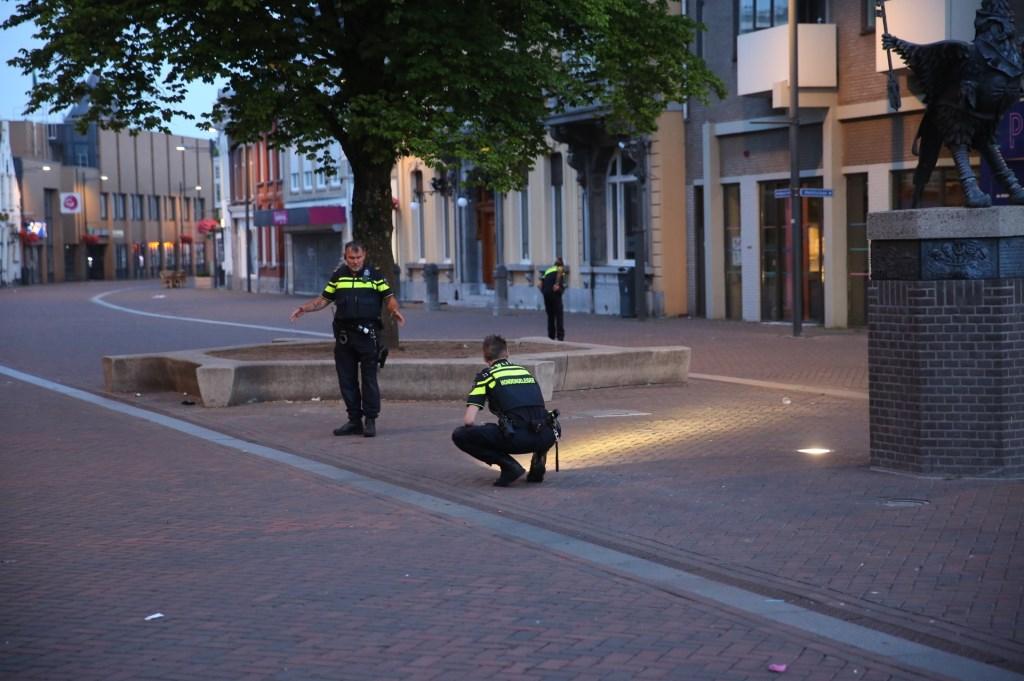 De man is op eigen kracht naar een horecagelegenheid gelopen.  Foto: Christian Traets © Internetbode