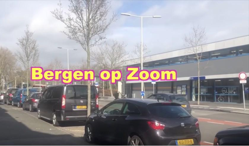 De grappenmaker kwam langs in Bergen op Zoom.
