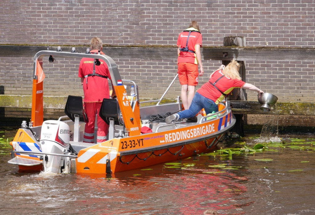 Ondanks de bewolking was de haven volledig gevuld.  Foto: Wesley van der Linde /GroenNieuws.nl © BredaVandaag